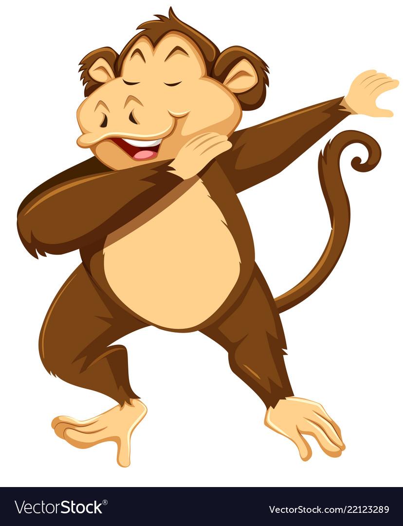 a monkey dab on