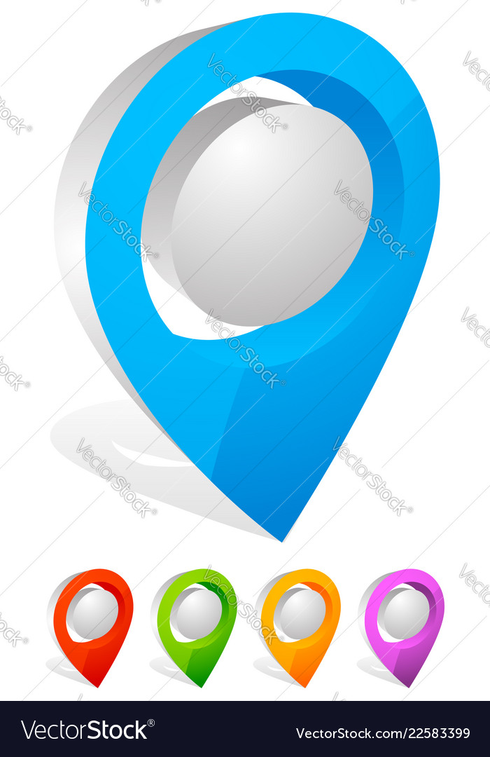 3d map pin map
