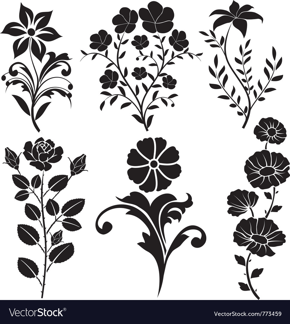 flowers decorative royalty free