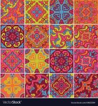 Colorful Ceramic Tile | Tile Design Ideas