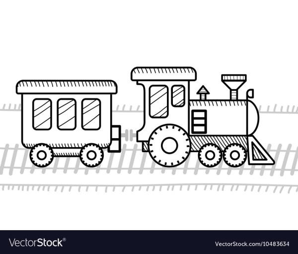 train coloring # 5