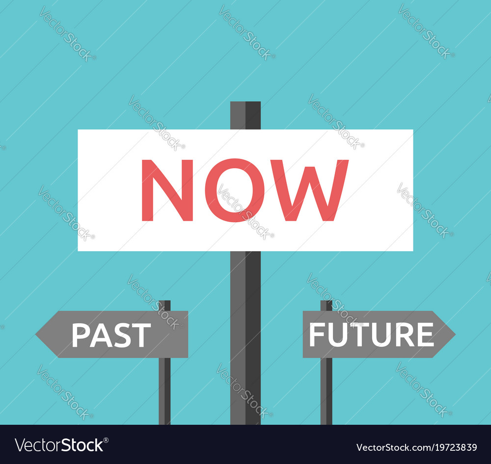 now past future signs