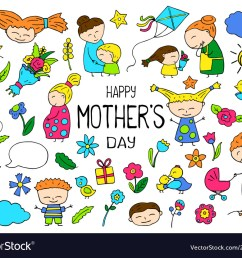 happy mother day clipart [ 1000 x 831 Pixel ]