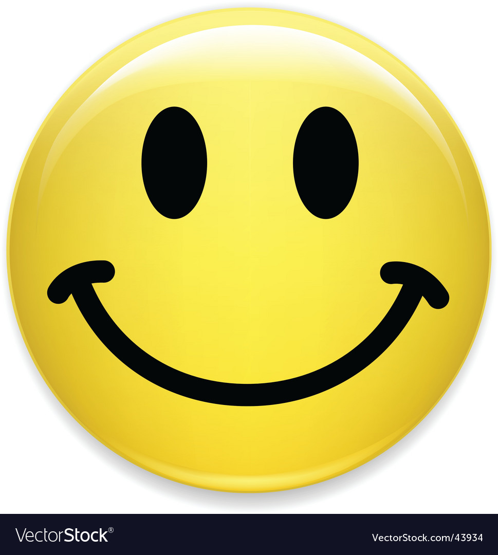 Smiley face Royalty Free Vector Image  VectorStock