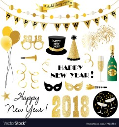 new years eve clipart vector image [ 1000 x 1080 Pixel ]