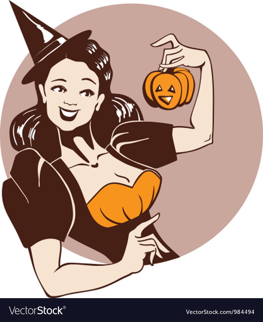 halloween pinup art wallpapers | www.topsimages