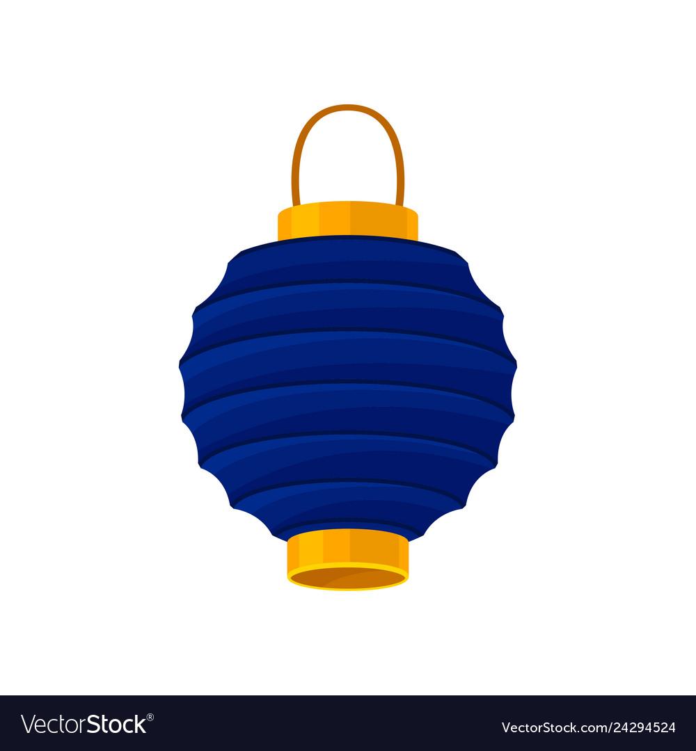 blue chinese lanterns festive