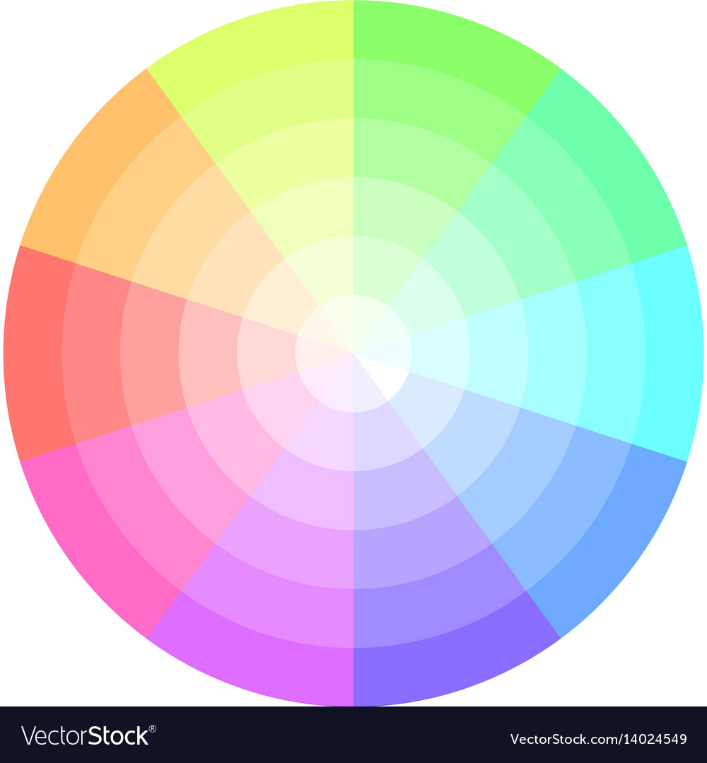 color combinations for diagram 2005 nissan altima radio wiring palette pastel colors pie chart royalty free vector image