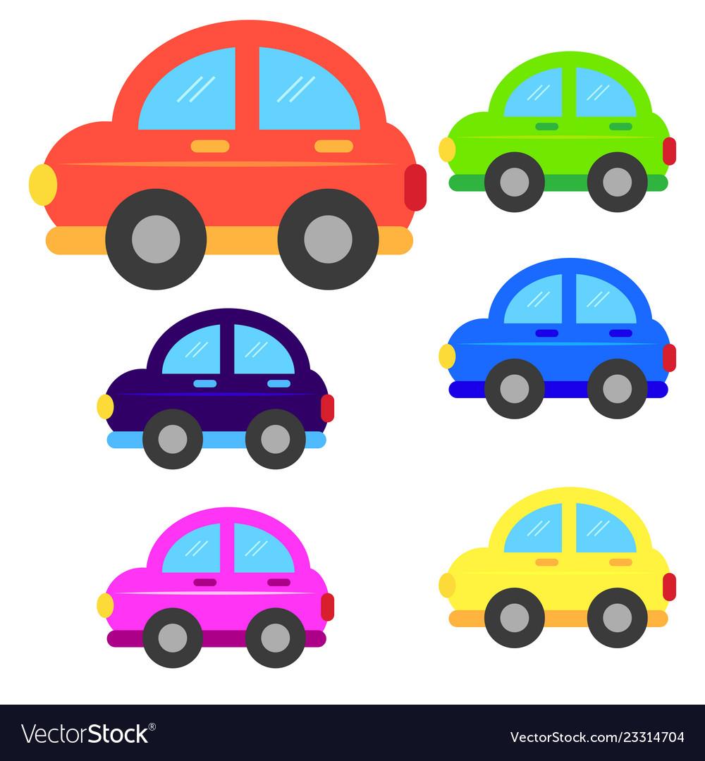 hight resolution of car cartoon or car clipart cartoon vector image