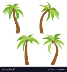 Palm Trees Cartoon
