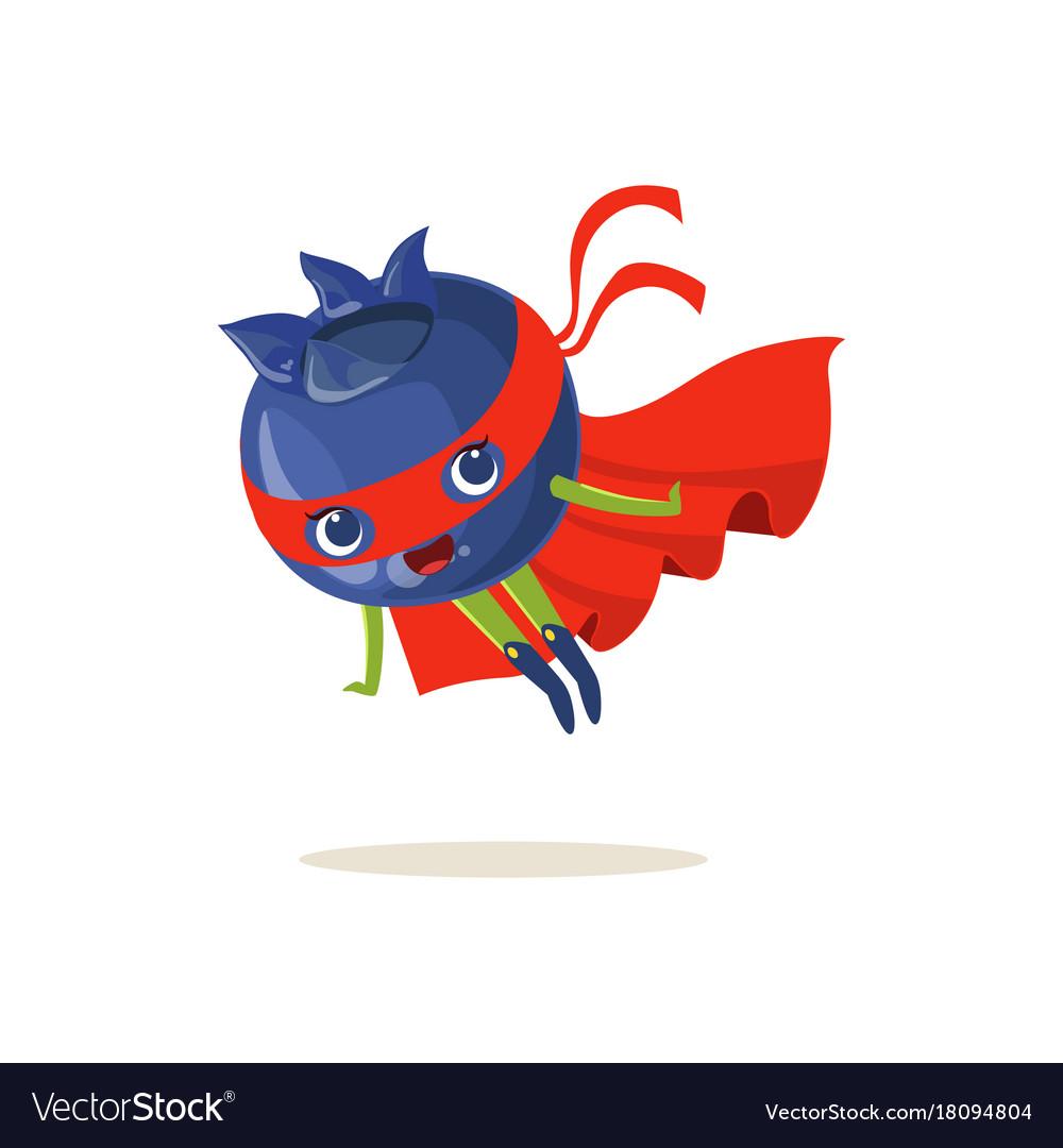 cartoon character of superhero