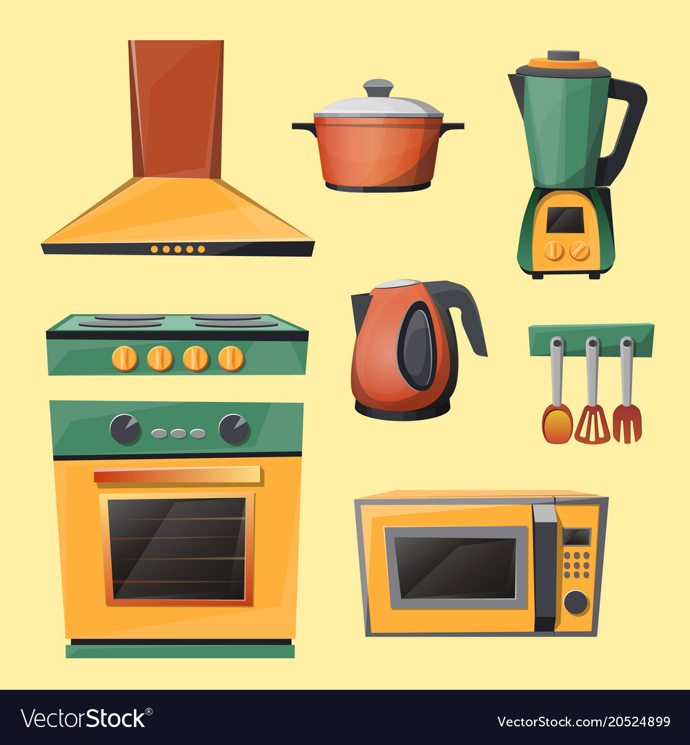 Kitchen Equipment 3d Model Archive