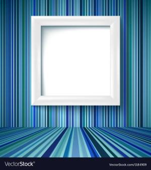 empty frame striped
