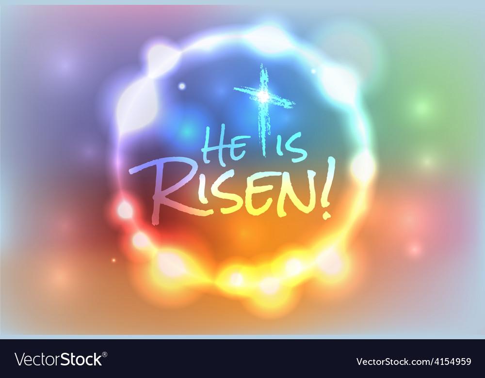 he is risen christian