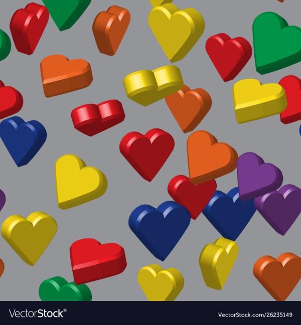 hearts colors # 23