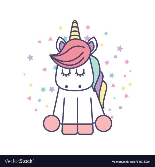 Cute Kawaii Unicorn Girl Drawing Imgurl