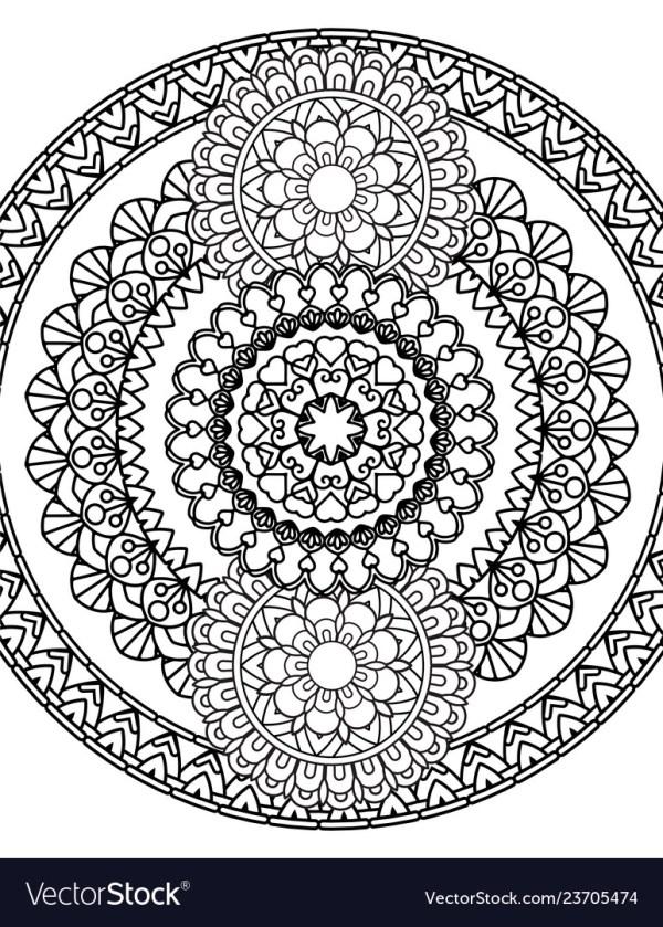 coloring pages mandalas # 38