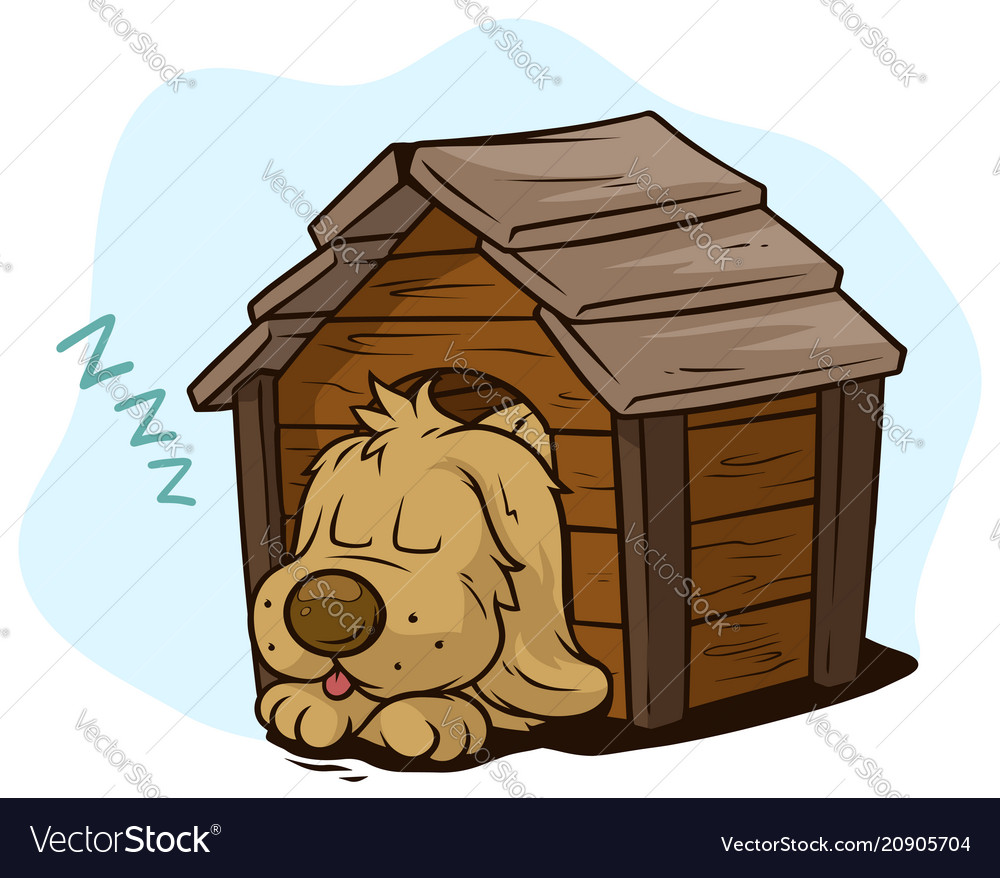hight resolution of sleeping dog clipart