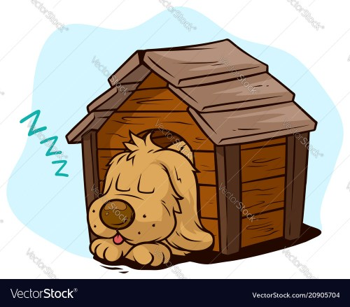 small resolution of sleeping dog clipart