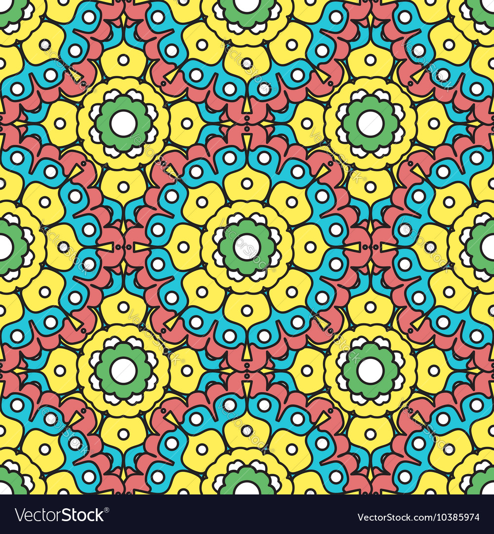 geometric designs floral patterns