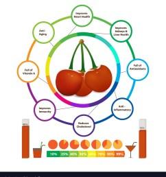 amazing health benefits of cherry vector image [ 917 x 1080 Pixel ]