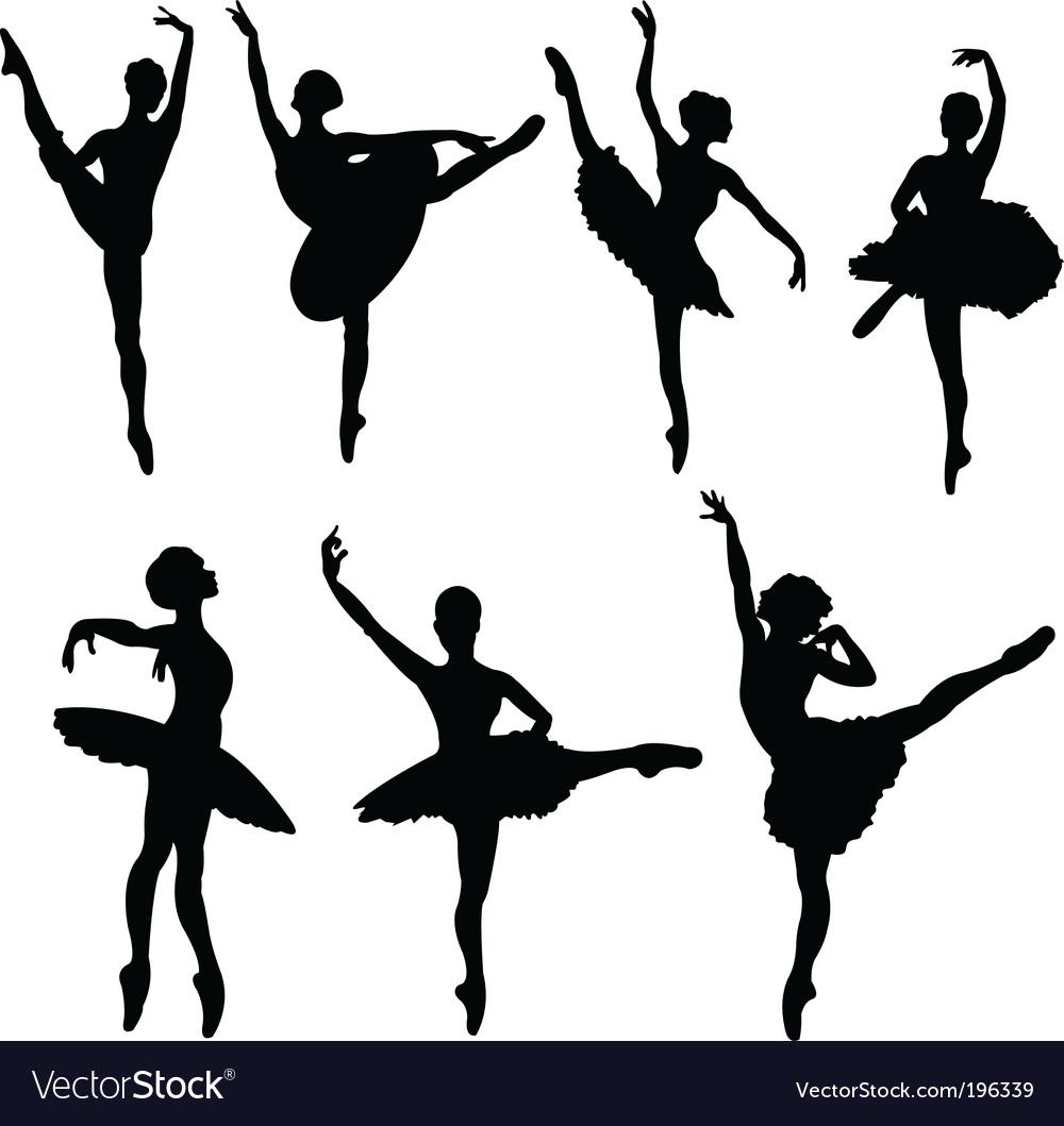 ballerina silhouettes