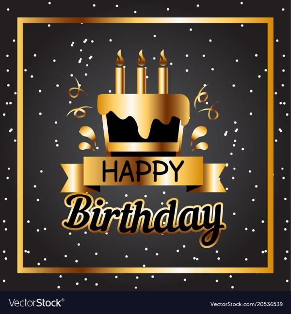 happy birthday cake golden square