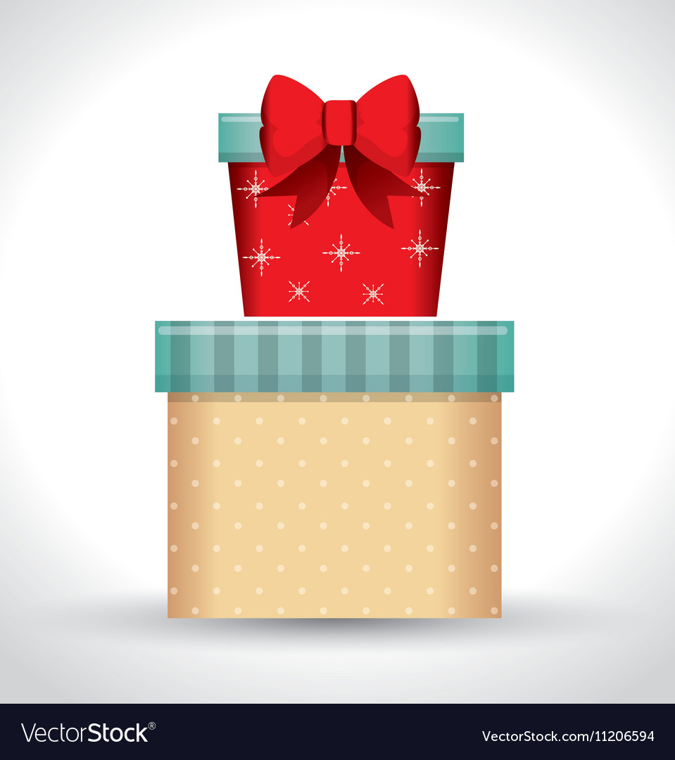 big gift box and