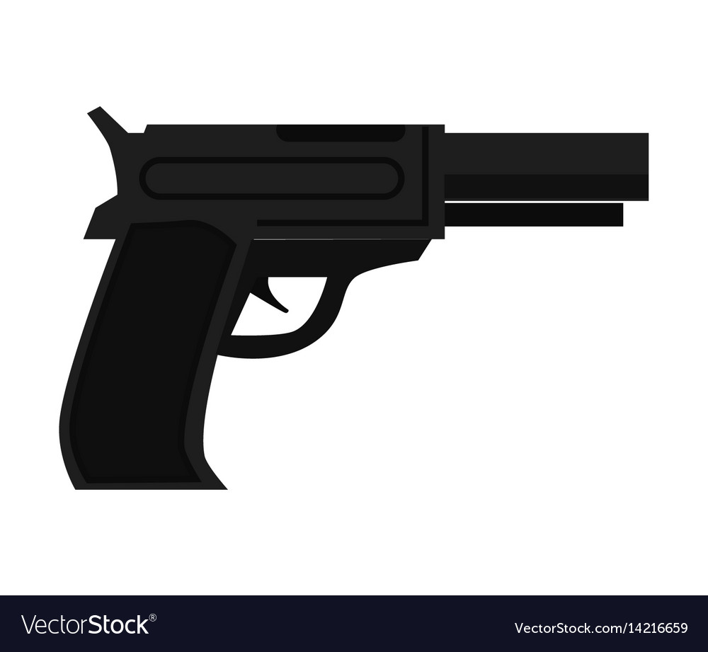 police gun cop automatic