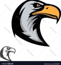 eagle mascot clipart [ 982 x 1080 Pixel ]
