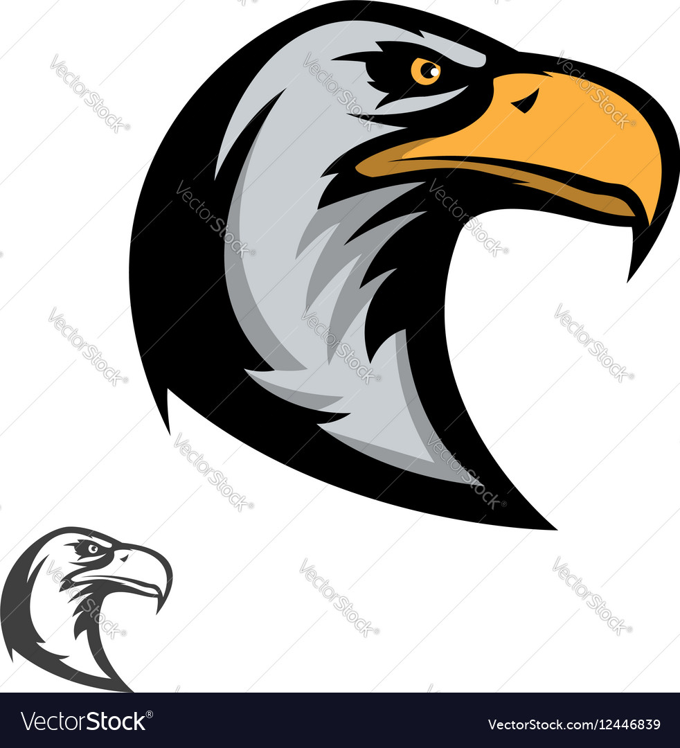 hight resolution of eagle mascot clipart
