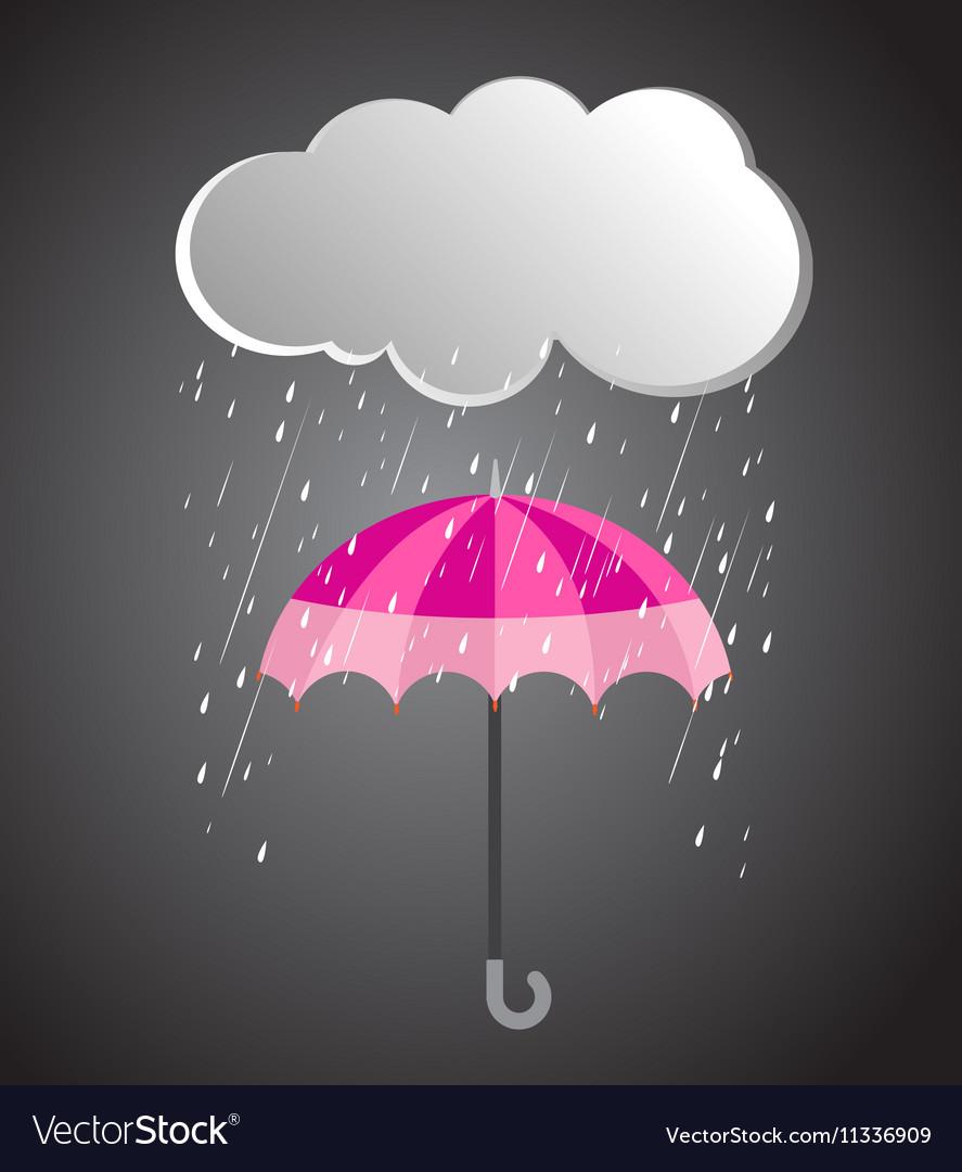 rainy day rainy umbrella