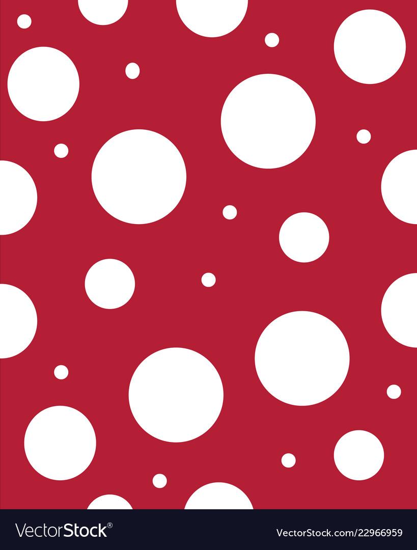 Red And White Polka Dot Background : white, polka, background, Abstract, Background, White, Polka-dots, Vector, Image