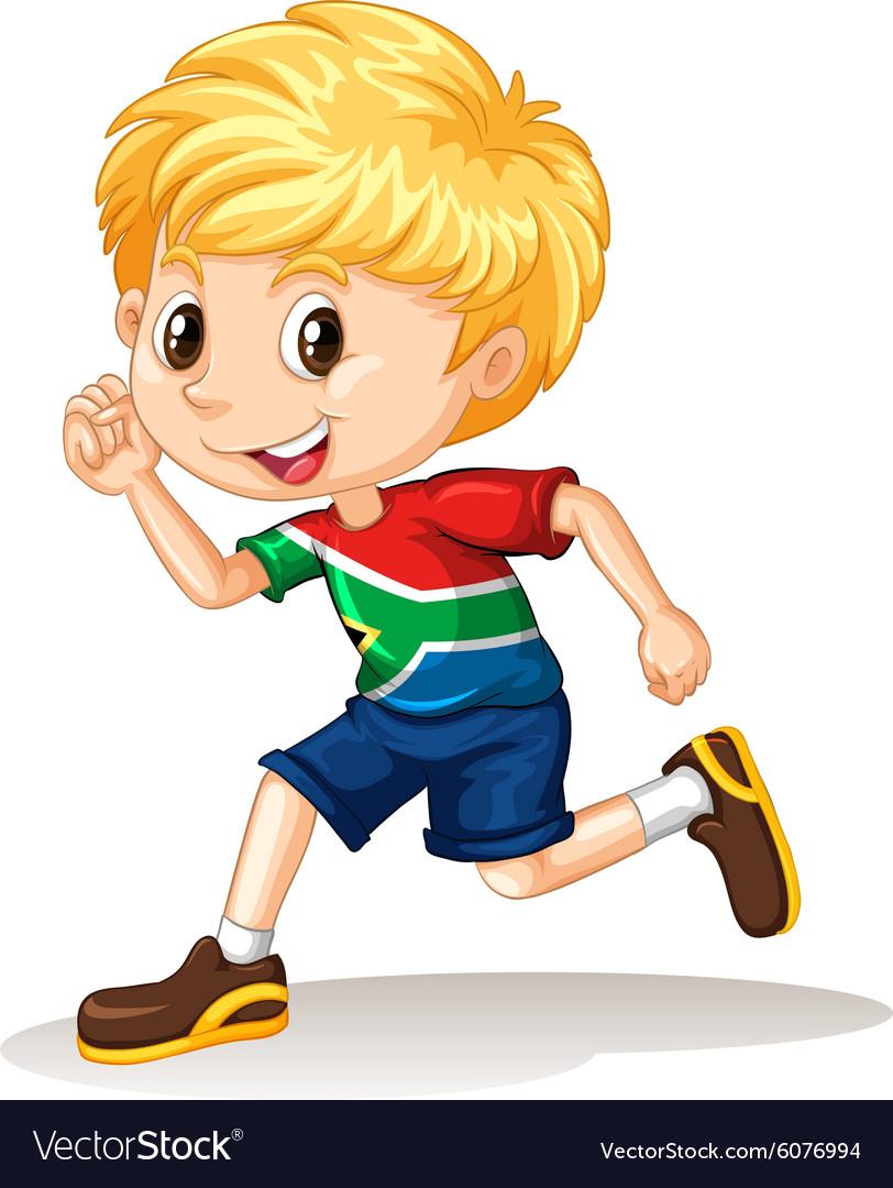 hight resolution of boy running clipart