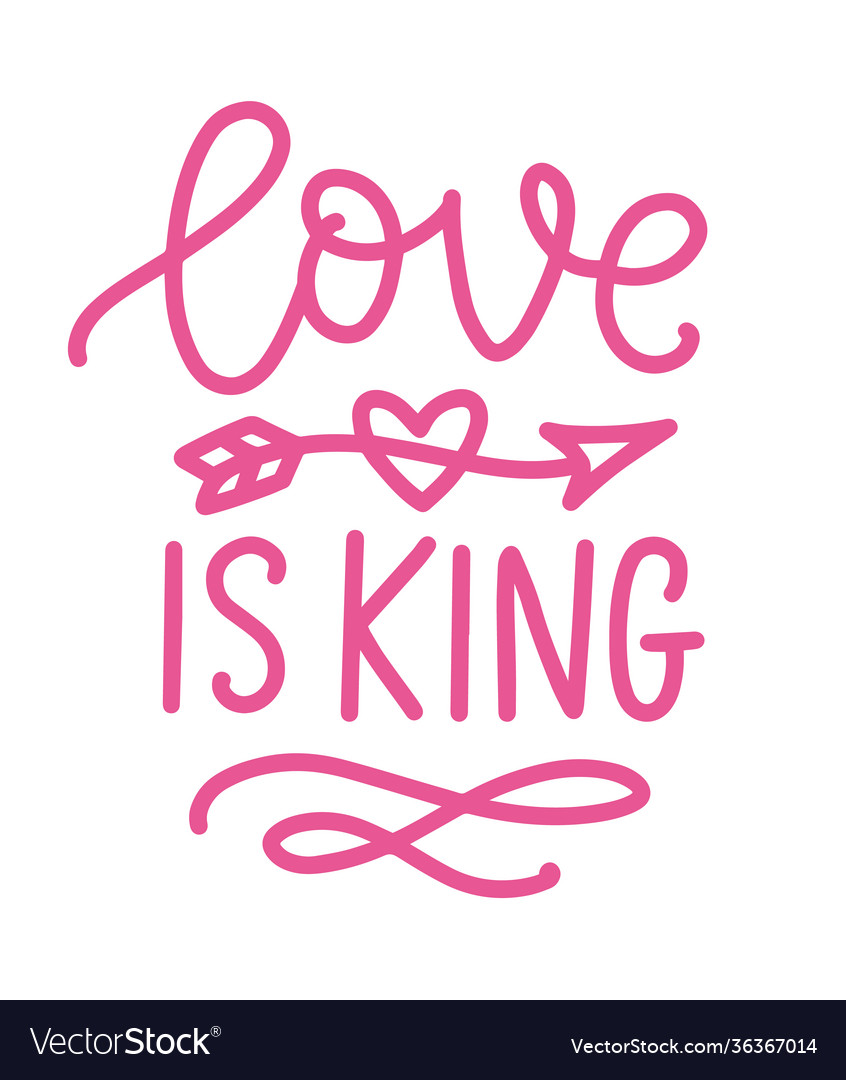 King Lettering : lettering, Written, Lettering, Royalty, Vector