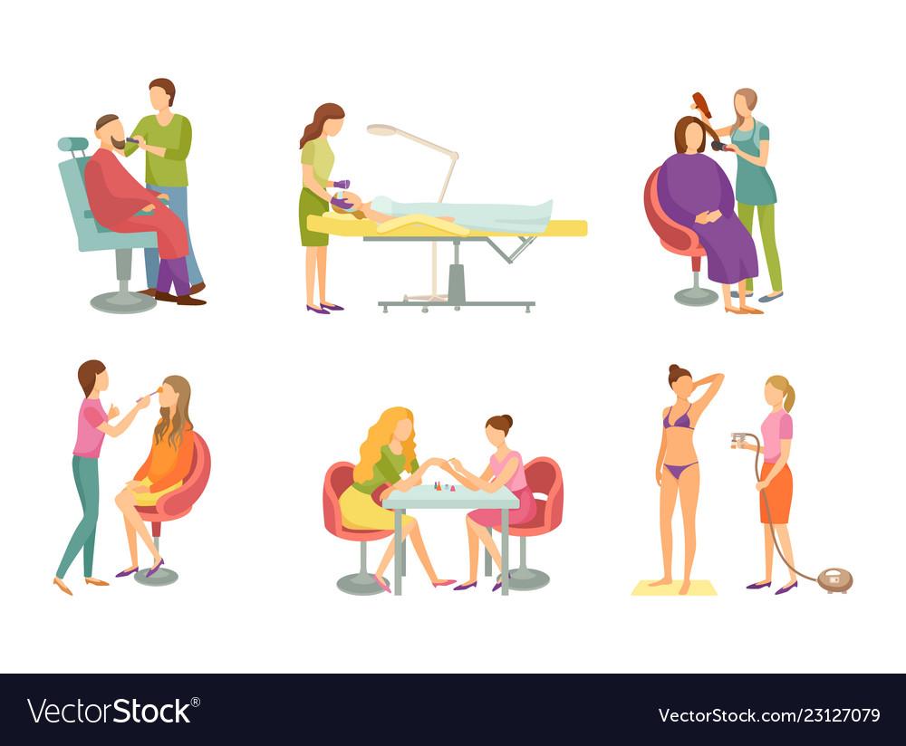 spa procedure in beauty