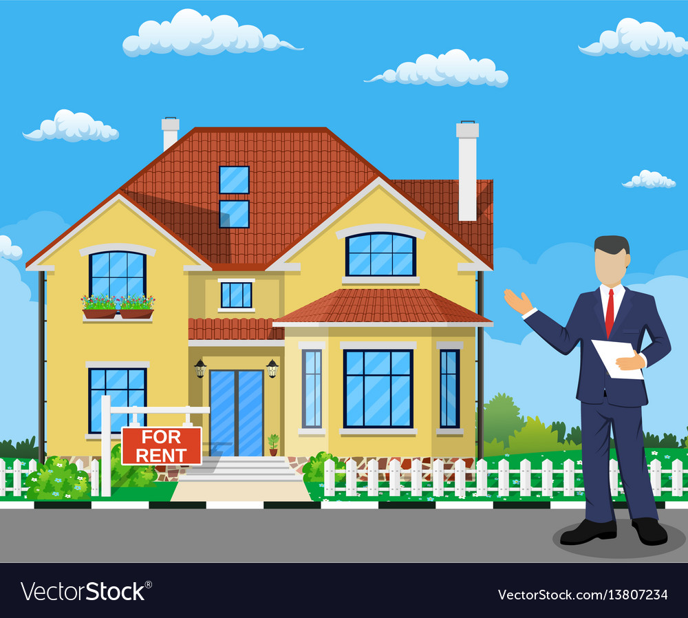 real estate broker at