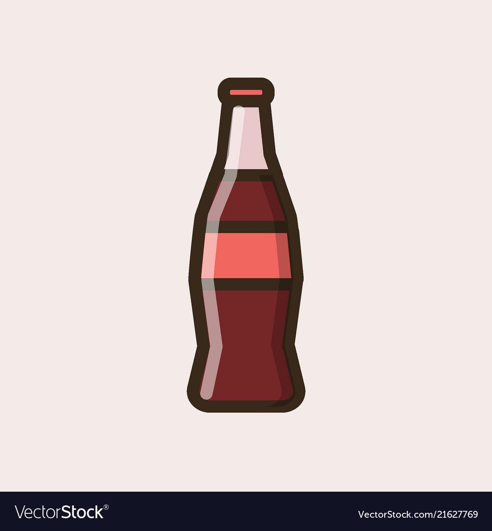 soft soda drink in