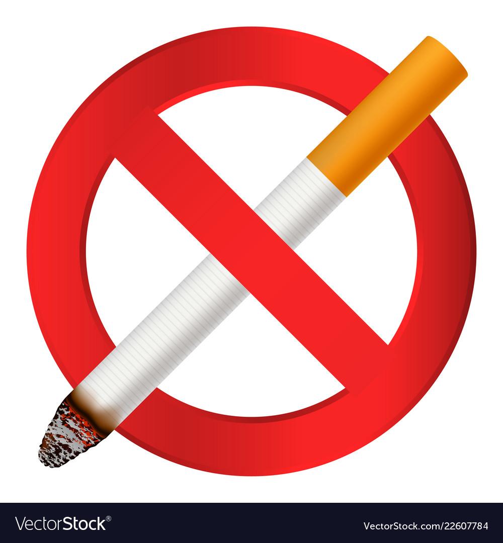 no smoking cigarette icon