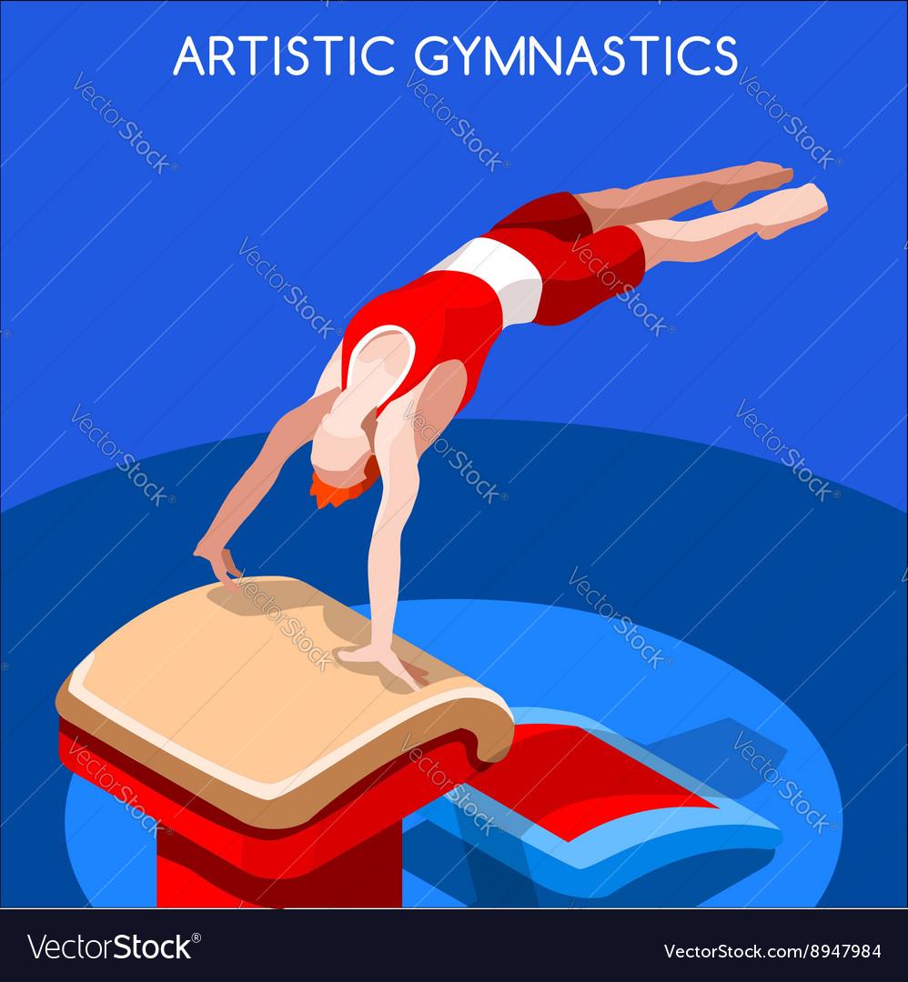 gymnastics vault 2016 summer