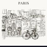 Paris Cafe Royalty Free Vector Image Vectorstock