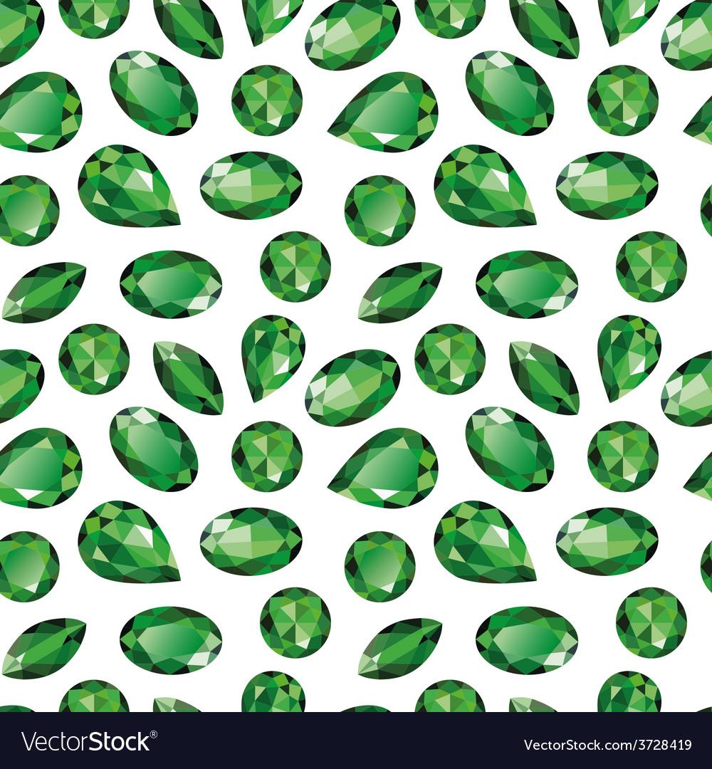 emeralds seamless texture