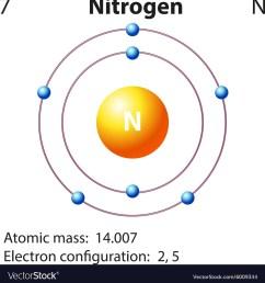 diagram representation of the element nitrogen vector image diagram of nitrogen cycle in biology diagram of nitrogen [ 992 x 1080 Pixel ]