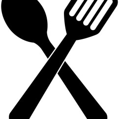 Kitchen Spatula Small Outdoor Ideas Spoon And Icon Royalty Free Vector Image