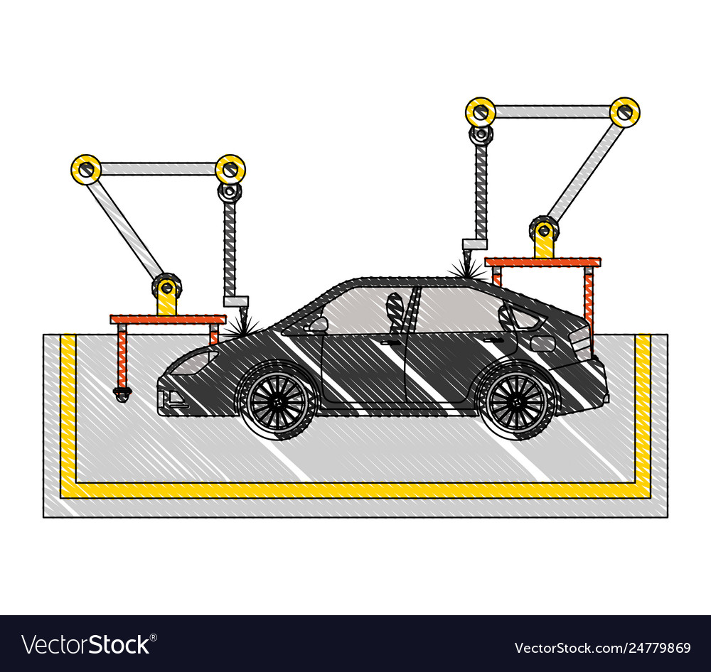 hight resolution of automotive assembly line diagram