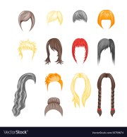 cartoon hairstyles