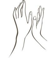 manicure nail studio logo design