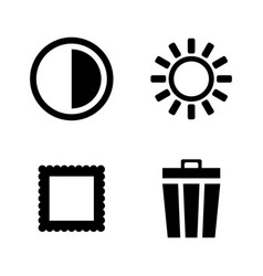 DSLR Camera function icon Royalty Free Vector Image