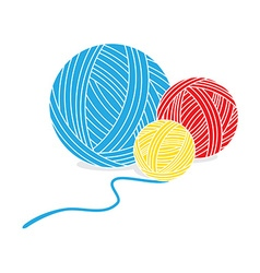 yarn vector images over