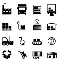 Fire fighting web icon set Royalty Free Vector Image